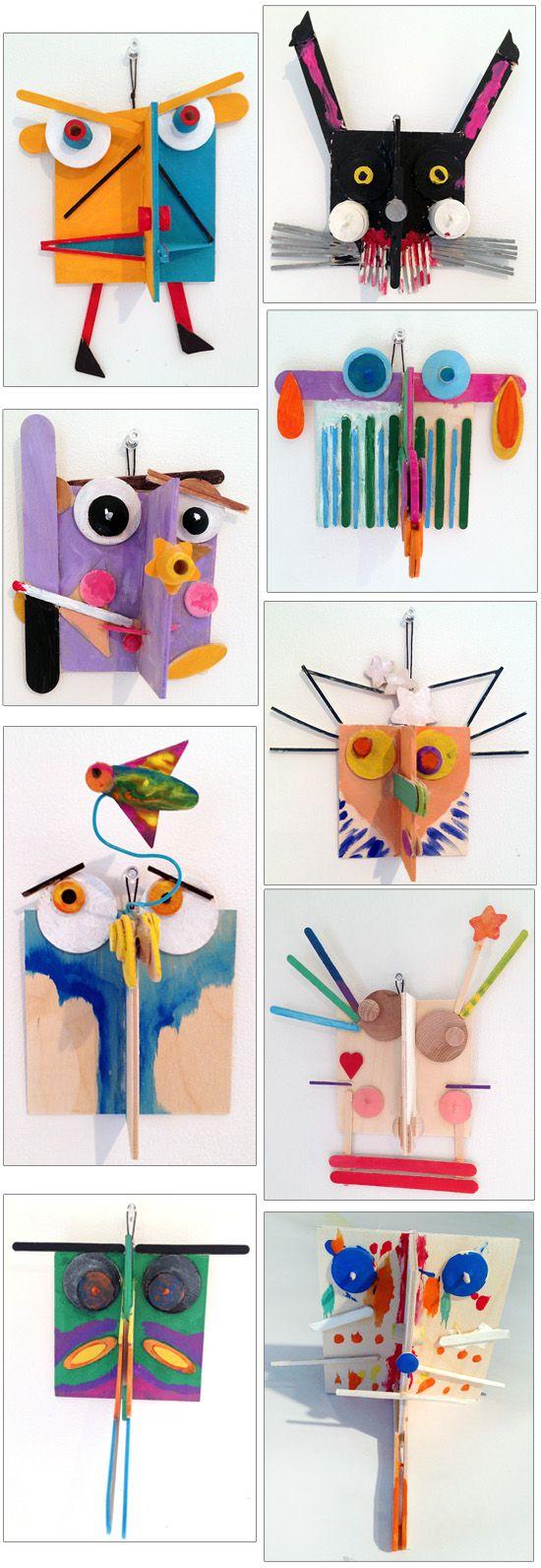 ArtLab Bronstein Sculptural Faces 2013