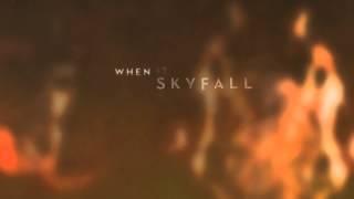 Adele - Skyfall (Lyric Video), via YouTube.