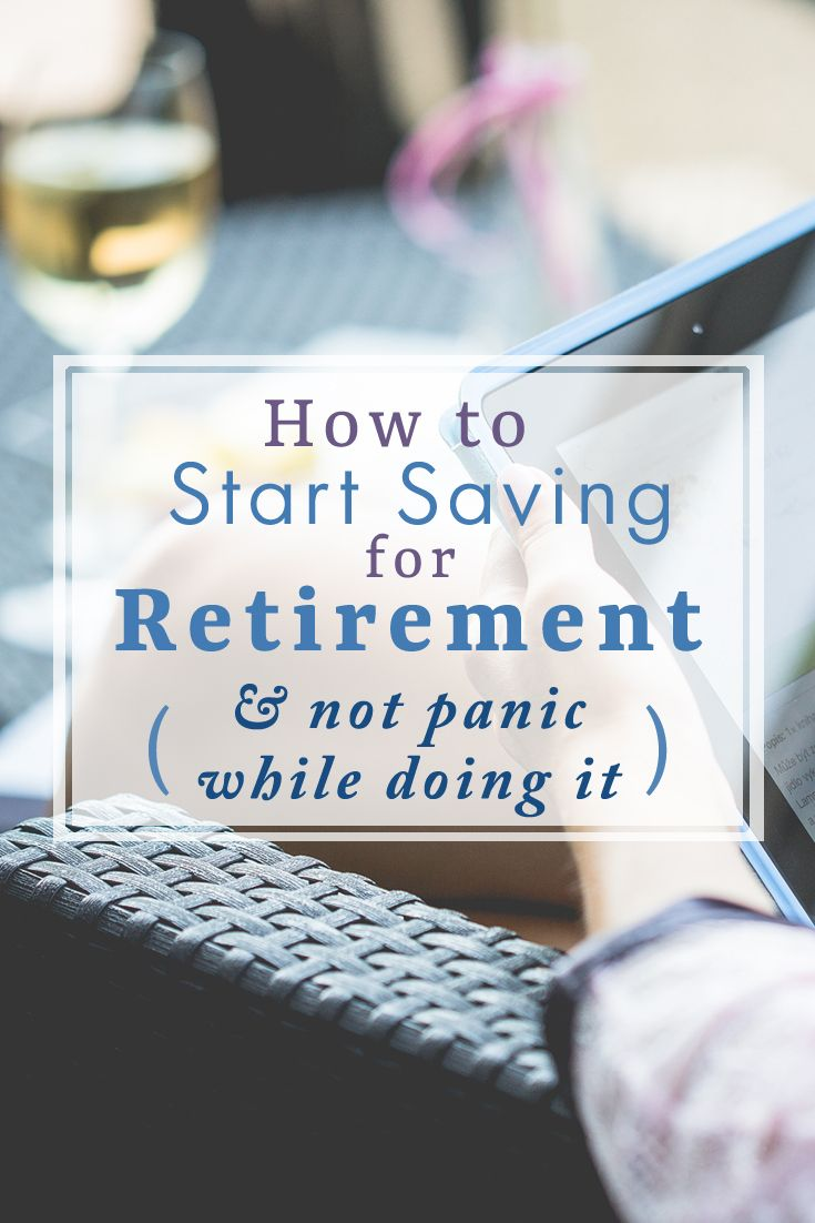 Saving for retirement is becoming more and more important. It doesn't matter where you begin, just that you start now. Here's how to do it in simple, easy-to-understand terms!