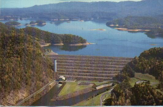 South Holston Dam, part of the Tennessee Valley Authority, outside of my hometown Bristol, Tennessee.