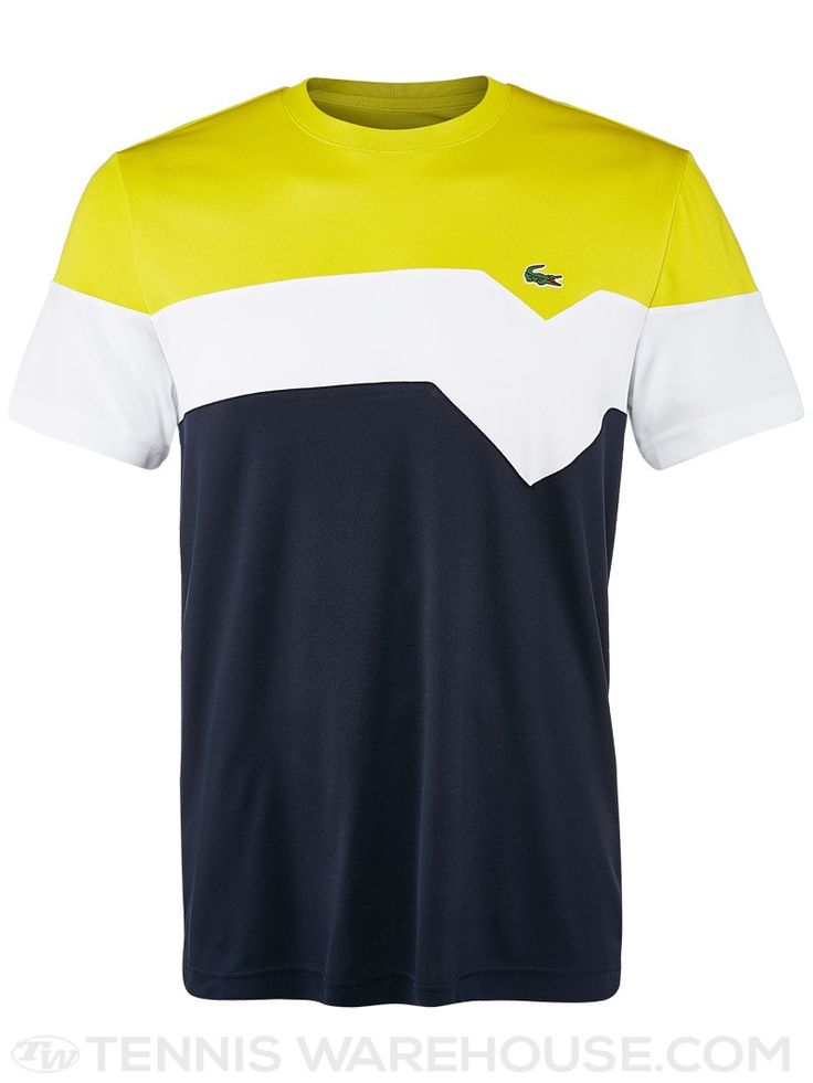 Lacoste Men's Fall Colorblock Crew
