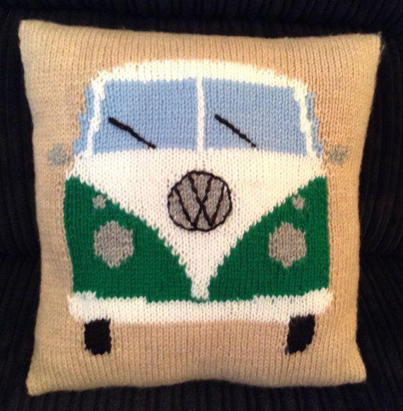 Small VW Camper Van Cushion / Campervan  Cushion / Hand