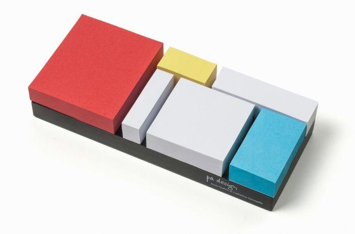 pa design bürozubehör klebenotizen-set