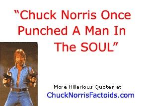 Chuck Norris Random Fact Generator