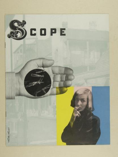 Influencias de las vanguardias europeas en el diseño USA. Lester Beall. Portada de la revista médica SOPE 1948