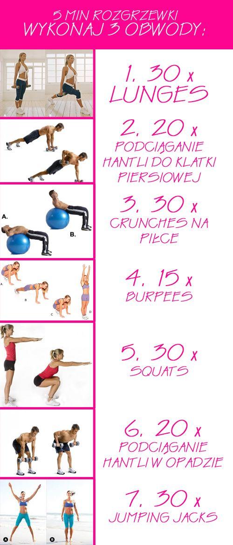 Pomysł na trening 31.07.13 — Fit Passion - Fit pasja na całe życie | fit fitness odchudzanie ćwiczenia blog zdrowy tryb życia dieta
