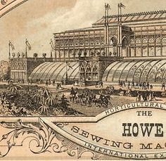Howe Sewing machine factory. Elias Howe wanted every home to have a sewing machine.