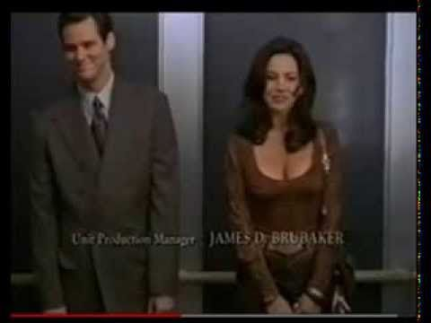 Krista Allen & Jim Carrey Liar Liar Outtakes. Super Funny