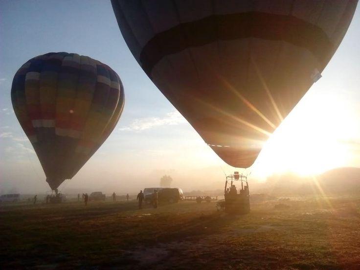 vuelo en globo aerostatico hidalgo