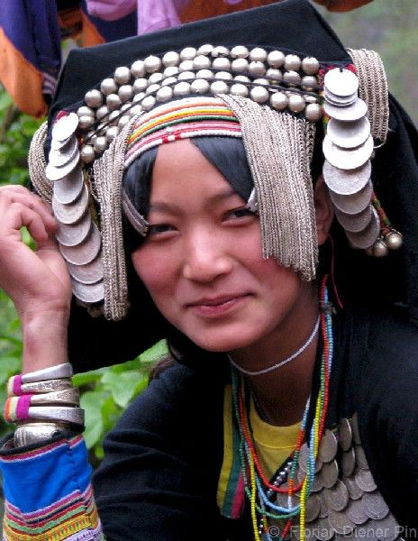 #Laos has 130 different ethnic tribes divided into four language groups. This woman is from Phongsaly, North Laos.