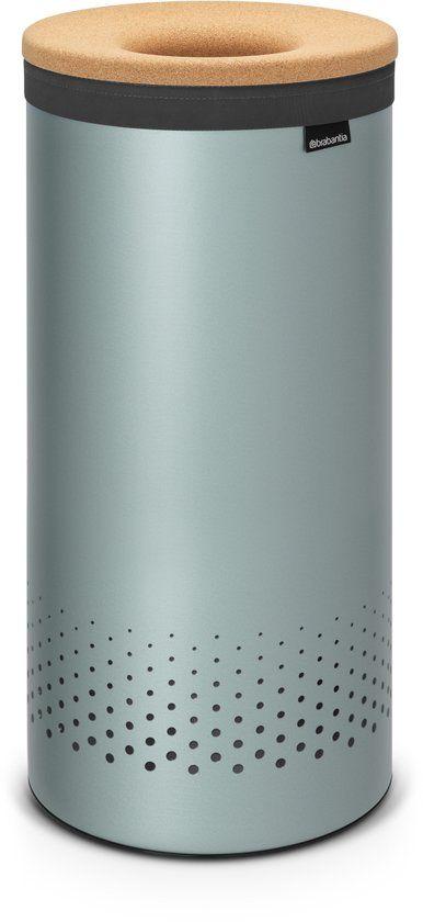 bol.com | Brabantia Wasmand - 35 l - Metallic Mint | Koken en tafelen