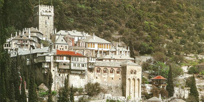 VISIT GREECE| Monastery of Dochiariou in #Athos #Macedonia #Greece