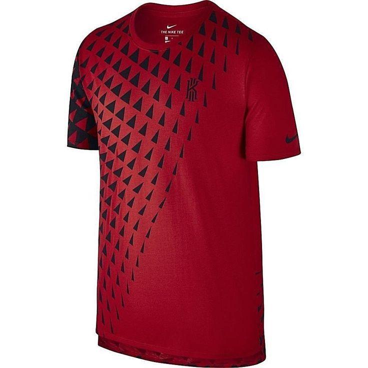 NIKE Kyrie Irving Dri-Fit T-Shirt sz XL Extra Large Red Black #Nike #TShirt