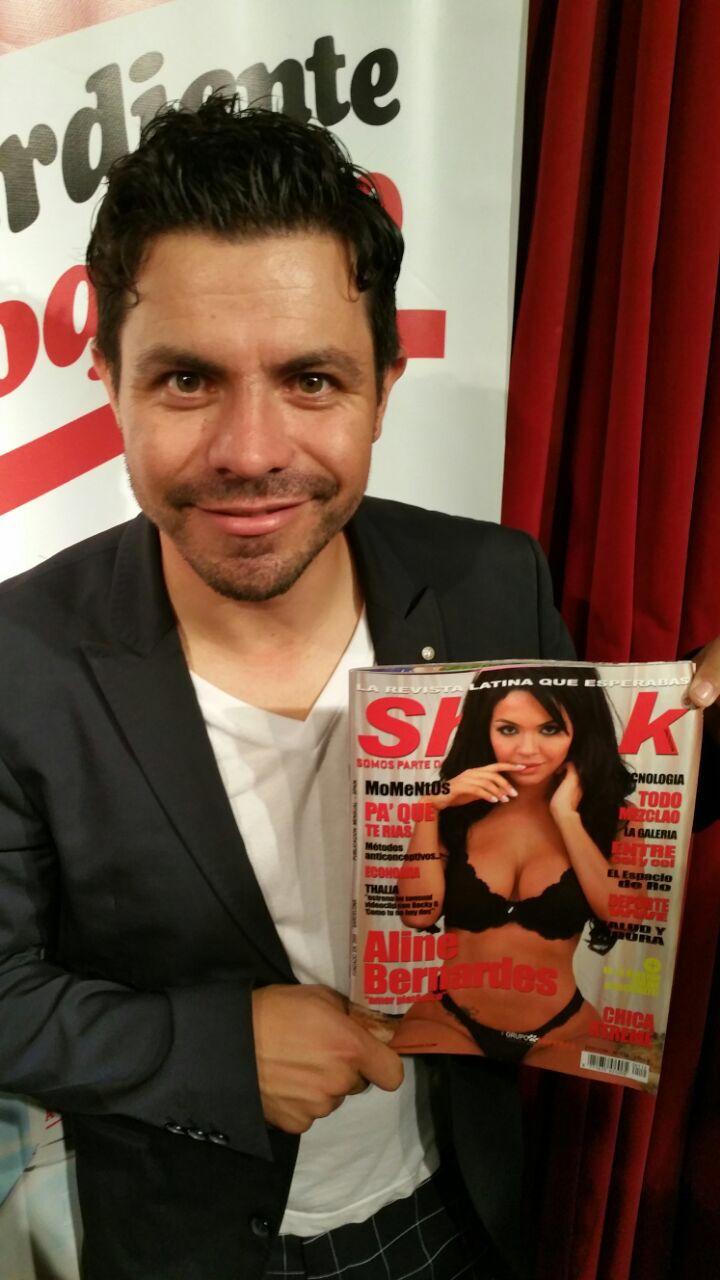 El mejor comediante del mundo Piter Albeiro con Shock Magazine