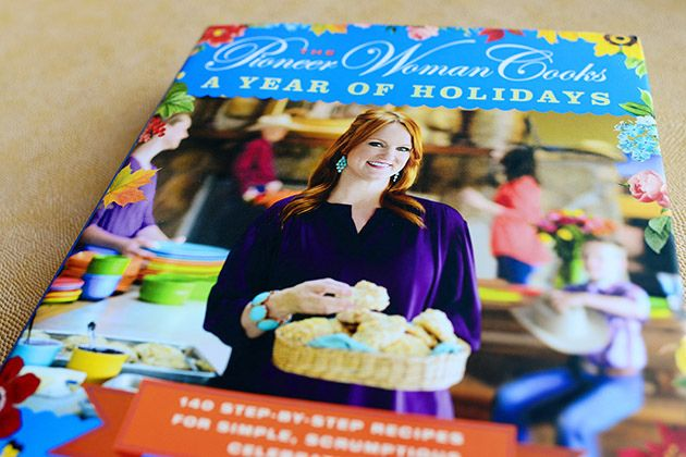 Holiday Cookbook! by Ree Drummond / The Pioneer Woman.  If anyone out there is listening I want this for Christmas... I'm putting it on my list....