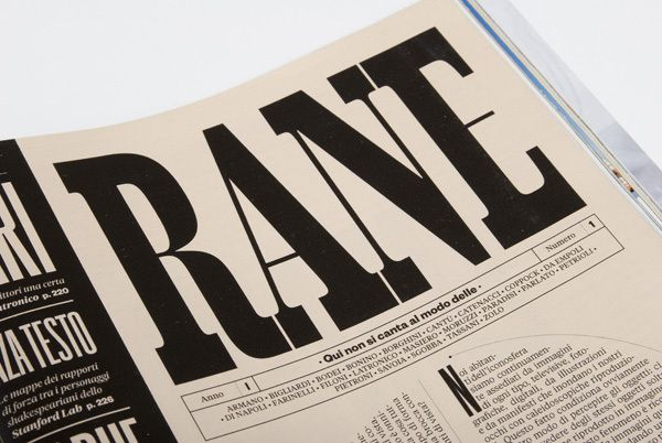 RANE by Francesco Muzzi, via Behance