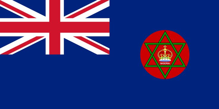 british colonial nigeria 1914 1960 flags drapeaux