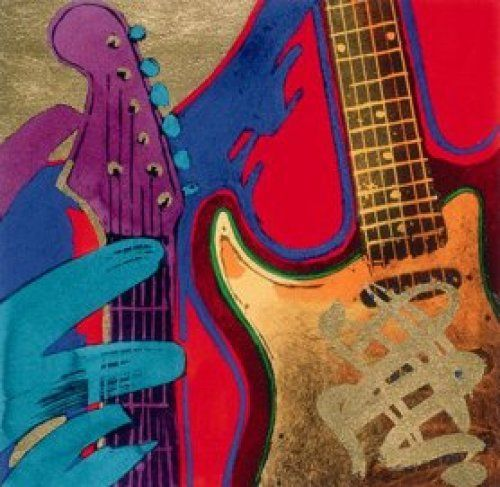 17 Best Images About Guitars On Pinterest: 17 Best Images About Guitar Art On Pinterest
