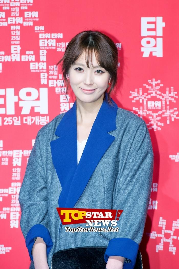 안혜경(Ahn Hye Kyung), '깔끔한 블루톤 의상' … 영화 '타워' 도네이션 특별 시사회 현장 [KSTAR PHOTO]