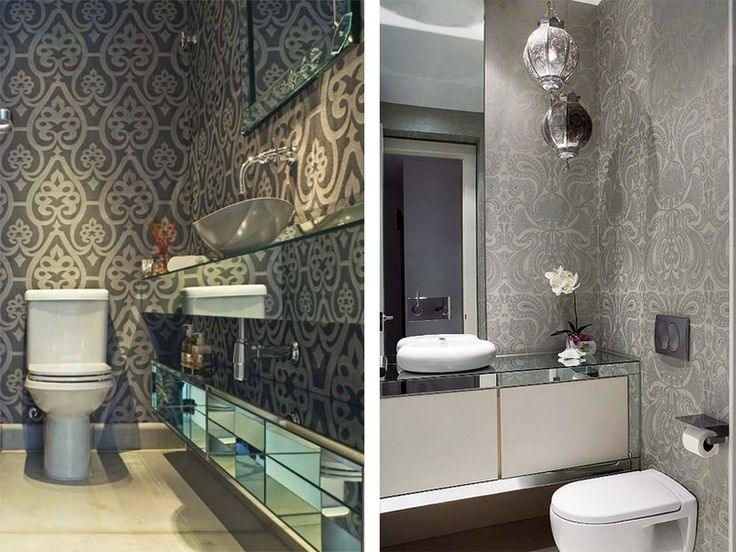 1000 ideas about wallpaper for bathrooms on pinterest