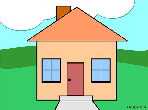 Christian Clip Art Image: House & Home | Preschool H - P ...