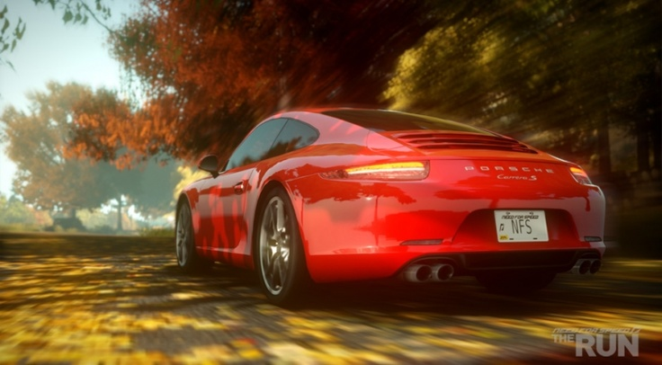 Porsche 911 Carrera S, Need for Speed The Run