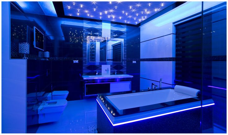 Starry sky made with SWAROVSKI ELEMENTS. Starry sky consists of crystals DROP 18 and DROP 40.  Private residence, Šaľa, Slovakia.