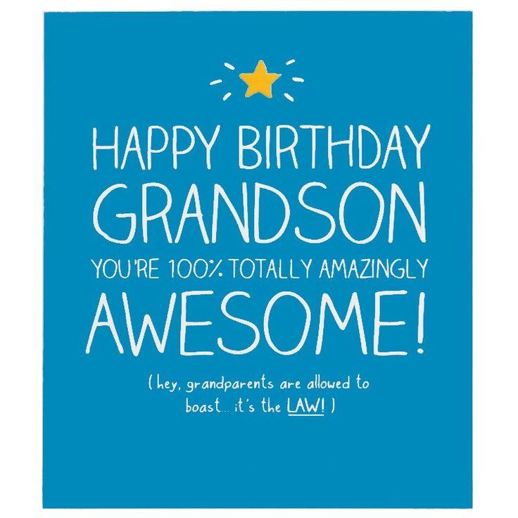 28 best Birthday sayings images – Birthday Card Grandson