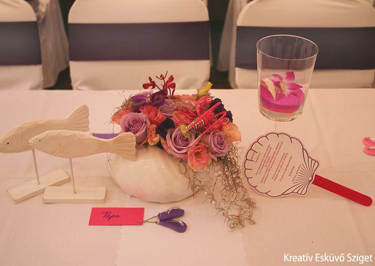 Kreatív Esküvő Sziget: Tengeri herkenytyűk