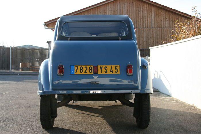 Citroen 2 CV AZ - 1956
