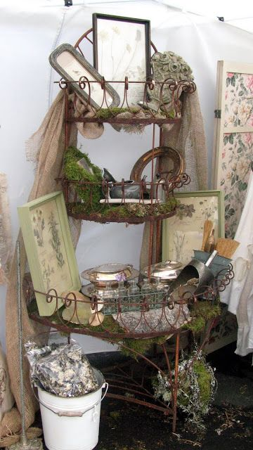 A Re-Purposed Life: Vintage Living at Horton's French Flea Market