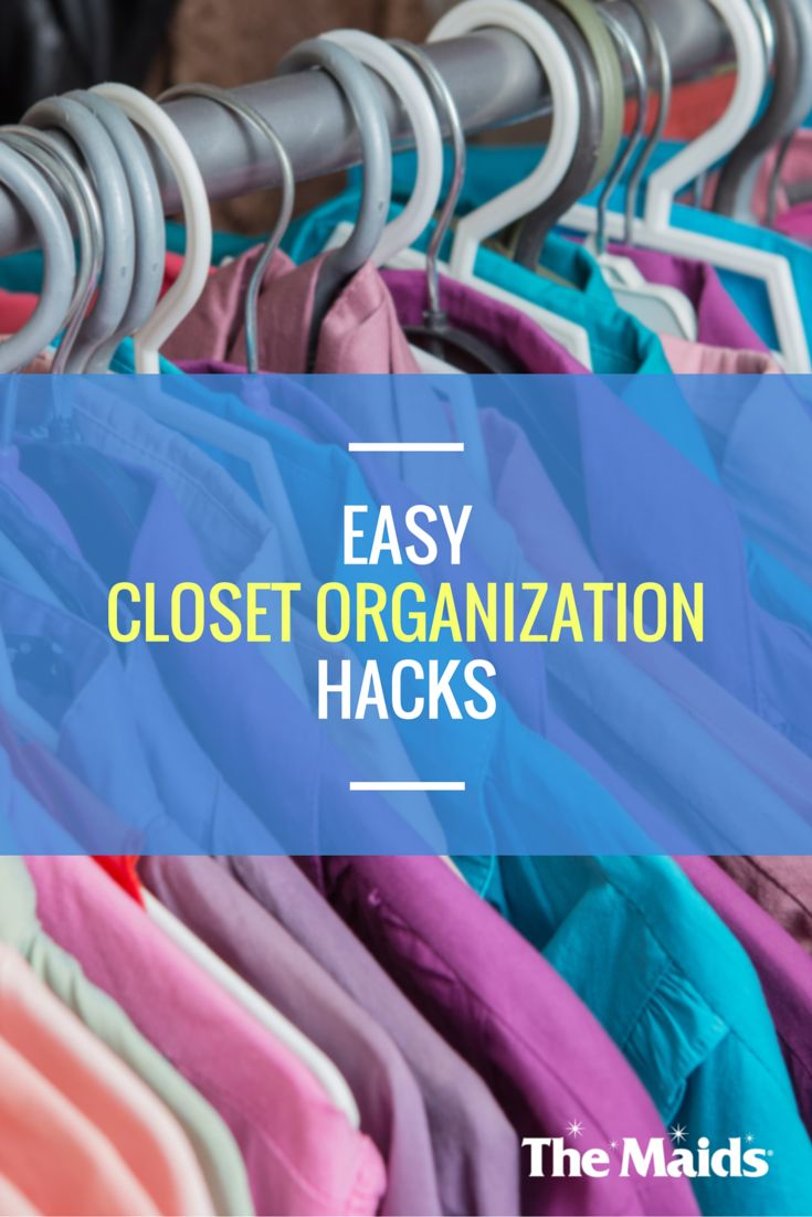 Closet Organization Tips And Healthy Living Advice Have A Lot In Common, As  Do Their