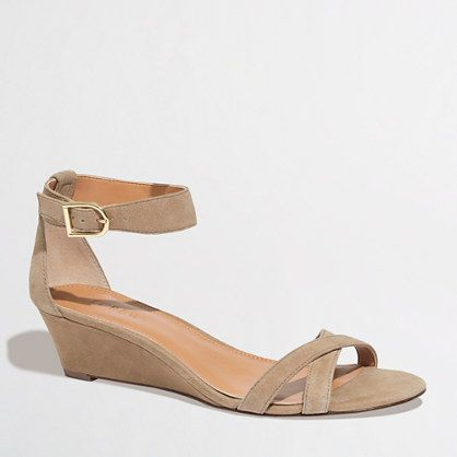 Factory demi-wedge sandals - Seasonal - FactoryWomen's Shoes - J.Crew Factory
