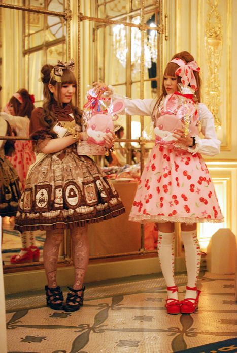 Angelic Pretty Paris: Des tirages au sort, des votes et des cadeaux ! Hasard et récompenses !