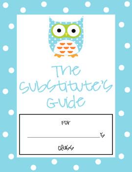 Cute Owl Substitute Binder