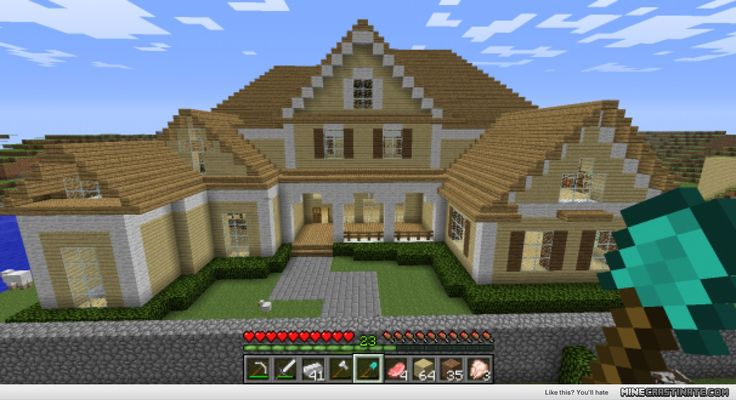 AWESOME MINECRAFT HOUSE!!!!!!!!!!! | Amazing minecraft ...