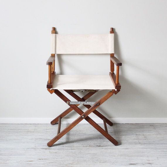 Charming Canvas Directors Chair From AMradio