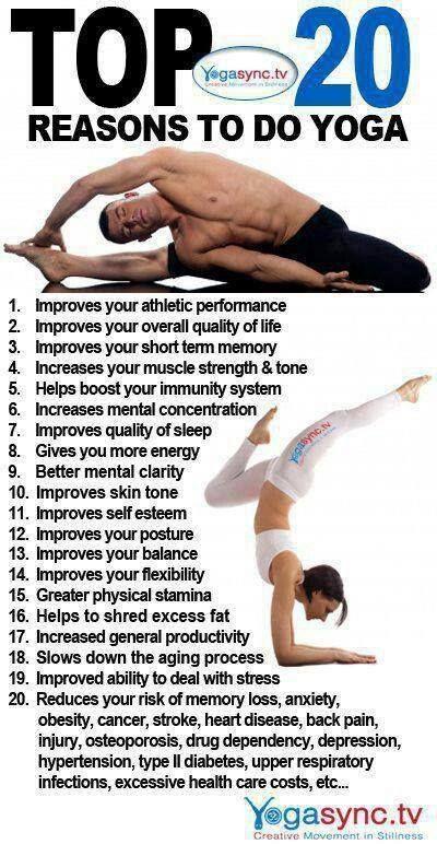 Yoga reduces back pain