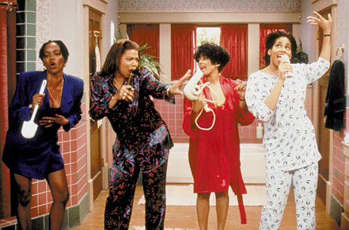Currently rewatching Living Single. With Kyle's voice (God, bless his voice) and Maxine's character, there is nothing better.