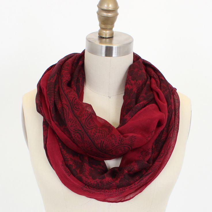 Loop it - Stichfix shows various ways to style your scarves.