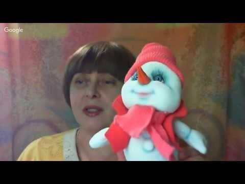 Кукольная мастерская: зимние посиделки. День 11. Светлана Тимашова - YouTube