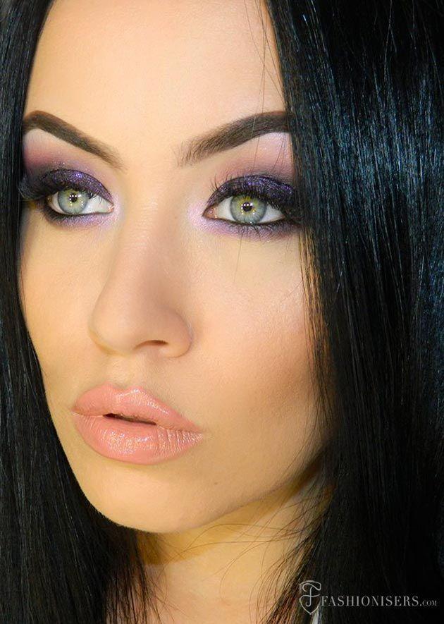Deep Purple Smokey Eye Makeup Tutorial  #makeup #makeuptutorial #smokeyeyes