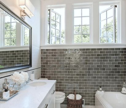Subway tile is a beautiful and classic design trend. Dwell Beautiful shows you how to get the subway tile look to your kitchen or bathroom!