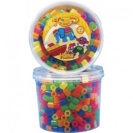 Witacie:)  Koraliki Hama w rozmiarze 10 mm Neon praktycznym pudełku.   Aż 600 sztuk koralików, z których można ułożyć wiele ciekawych kształtów do zaprasowania dla Dzieci od lat 3  Pomoc Rodziców obowiązkowa. Sprawdźcie sami:)  http://www.niczchin.pl/zabawki-kreatywne-dla-dzieci/2598-hama-8572-koraliki-maxi-neon-600-sztuk-w-pudelku.html  #koralikihama #hamamaxi #hamaneon #zabawki #niczchin #krakow