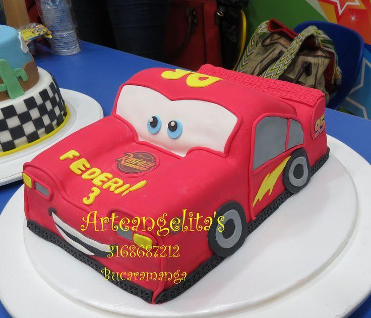 torta cars 100% comestible