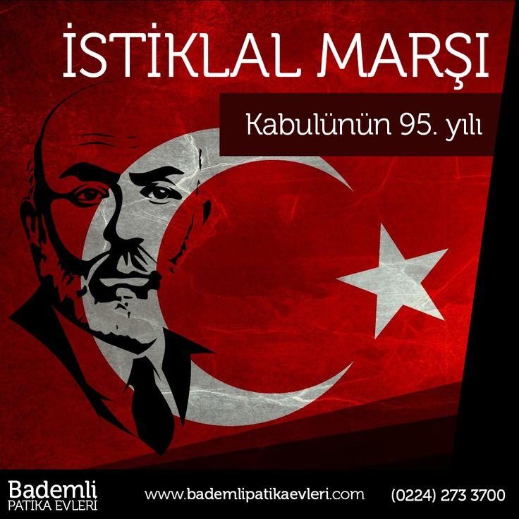 "İstiklal Marşımızın 95. Yılı kutlu olsun... ""Allah bu millete bir daha İstiklal Marşı yazdırmasın"" Mehmet Akif Ersoy.  #bademli #bursa #patika #ev #villa #istiklalmarşı #mehmetakifersoy #kutlu #olsun  Bademli Mah. Eski Mudanya Cad. No:175 Mudanya / BURSA www.bademlipatikaevleri.com // (0224) 273 3700"