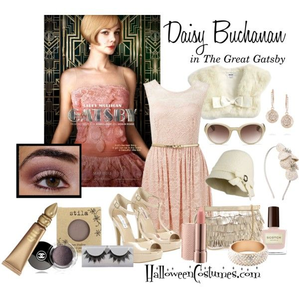 Daisy Buchanan by halloweencostumesdotcom on Polyvore
