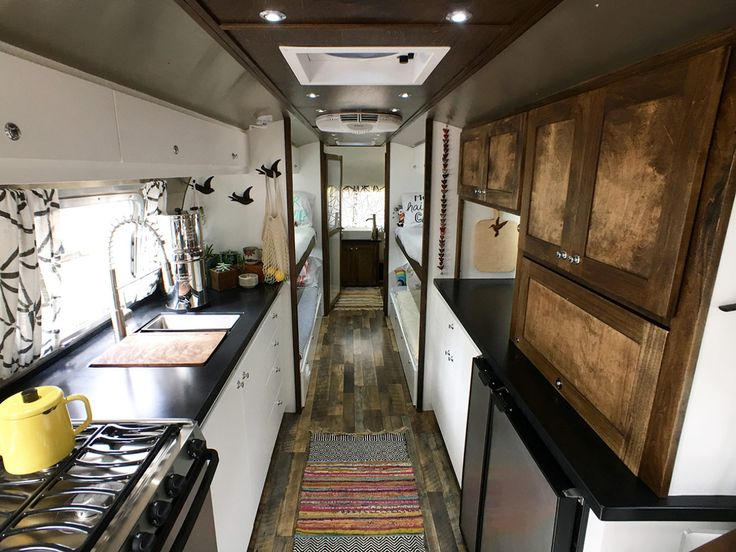 Airstream Renovation Tour: Before And After