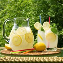 Honey Ginger Lemonade - Dr. Weil's Healthy Kitchen.