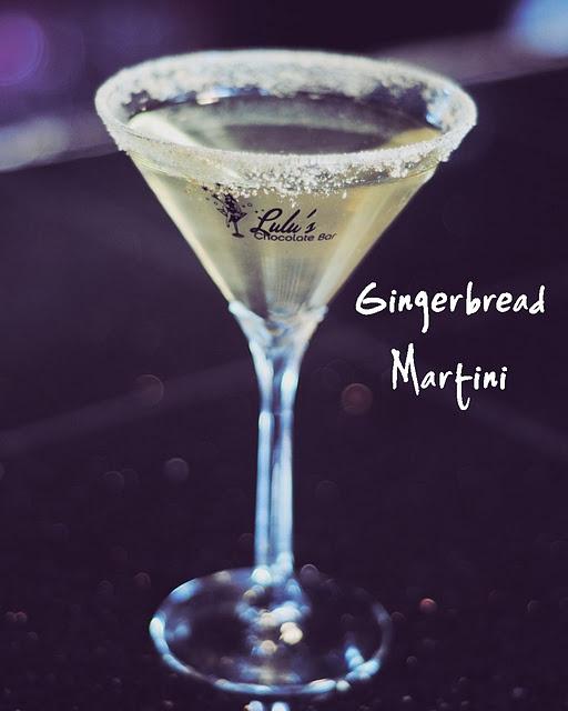 Gingerbread Martini. 3 ounces Citron Vodka. 3 ounces Monin Gingerbread Syrup. Shake